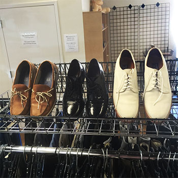 Men's Shoes at Hangers of Hope Thrift Store