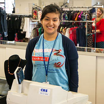 Part-Time Staff Member at Hangers of Hope Thrift Store
